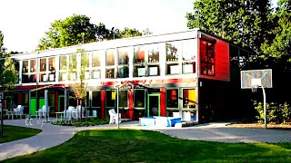preview picture of video 'Beautiful Shipping Container House in Germany'