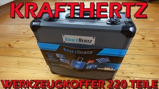 """""""KRAFTHERTZ PREMIUM WERKZEUGSET 220 TEILE"""" -Vorstellung"""