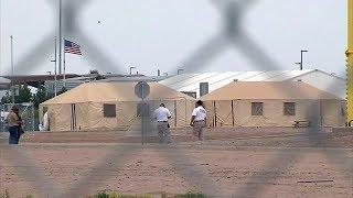 Tent city for migrant children in Texas draws criticism