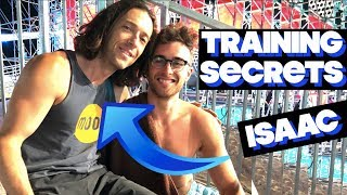 How To Train For American Ninja Warrior: Isaac Caldiero Training Tips!