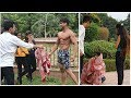 BEGGAR WITH 6 PACK ABS PRANK FITMANJEET