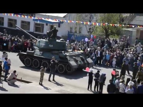 Караидель 2016 9 мая Парад техники
