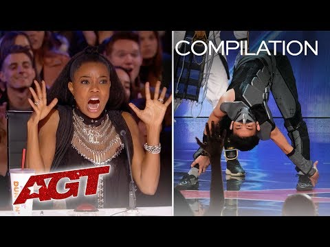 Talent So Shocking That You Can't Look Away! - America's Got Talent 2019 (видео)