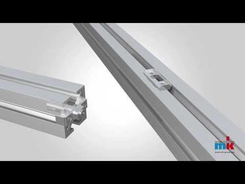 Aluprofile montieren – einfach mit dem mk Ankerverbinder