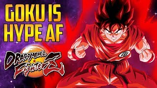 DBFZ ▰ Base Goku Is Awesome + Other Hype Moments  【Dragon Ball FighterZ】