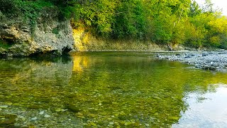 8 Hours Nature Sounds - River Noise, deep Sleep