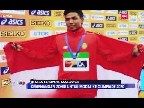 Catatkan 10,22 Detik, Zohri Raih Medali Emas di Grand Prix Malaysia Open 2019 - iNews Malam 31/03