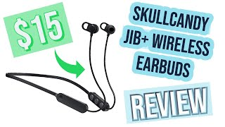 Skullcandy Jib+ Wireless Earbuds Jib Plus Headphones (Review)