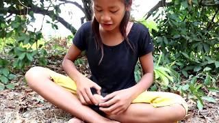 Finding food & Meet sapodilla fruit for eat - Natural sapodilla fruit eating delicious #16