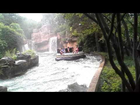 Cedar Point: Water Ride (видео)