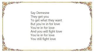 Johnny Marr - Say Demesne Lyrics