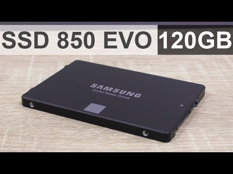 Samsung SSD 850 EVO 120GB SSD Review