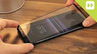 Olixar Sony Xperia 5 Full Cover Glass Installation and Review