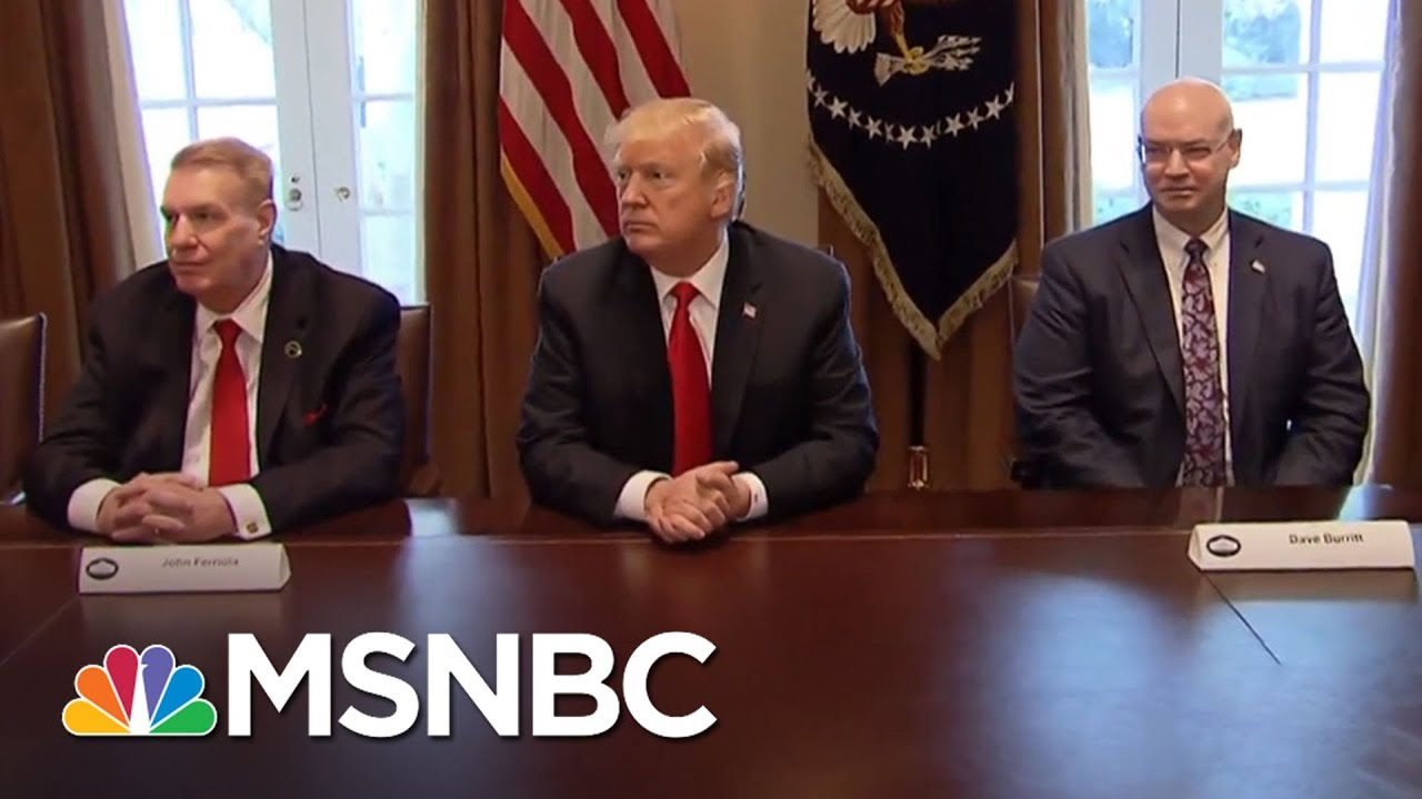 President Donald Trump Governing Like 'Mean Girls' | The Last Word | MSNBC thumbnail