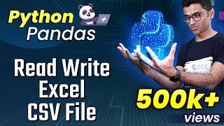 PythonPandasTutorial4:ReadWriteExcelCSVFile