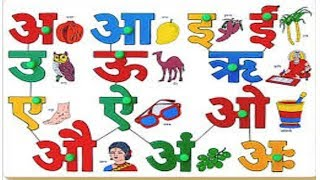 Hindi Vowels With Pictures 123vid