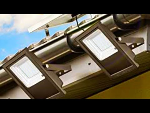 Светодиодный прожектор на солнечной батарее / Solar Powered LED Flood Light