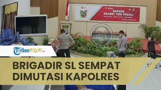 Seusai Dianiaya, Brigadir SL Sempat Dimutasi Kapolres Nunukan, Dibatalkan setelah Videonya Viral