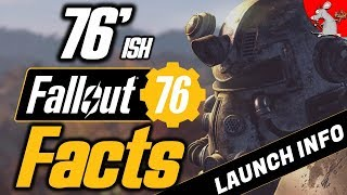 76 FALLOUT 76 Facts You Need To Know! / Fallout 76 Beta/Launch Info XB1 PS4 PC