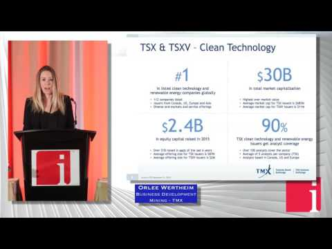 Toronto's venture exchange attracting cleantech listings ... Thumbnail