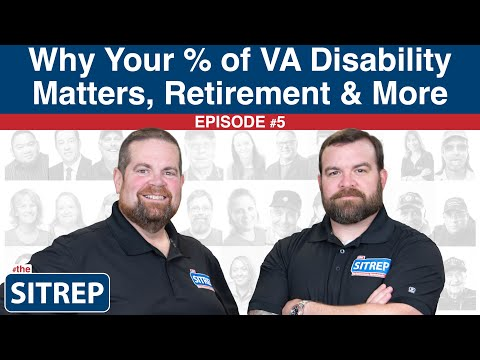 Additional Benefits for Different VA Ratings by #theSITREP