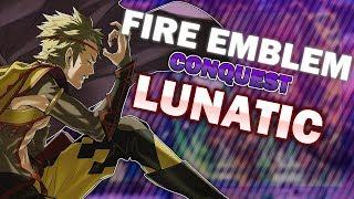 Fire Emblem Conquest Lunatic Blind - Ch17