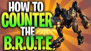 How To Counter The B.R.U.T.E. Mech In Fortnite! (Brute Mech Tips & Tricks)