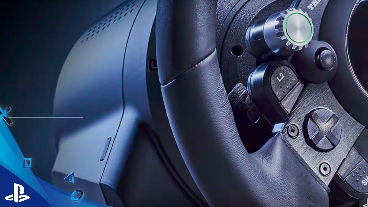 E3 2017   Conoce el volante Thrustmaster T-GT con funcionalidades exclusivas para Gran Turismo Sport