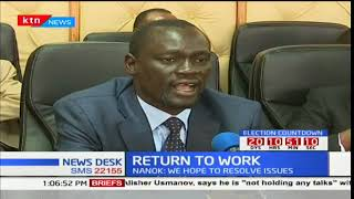 COG chairman, Josphat Nanok on health crisis and nurses' strike in the country