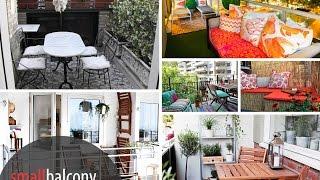 Landscape Design : Fabulous Ideas For Decorating Small Balcony