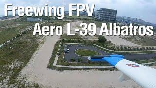 Freewing L39 HD FPV Flight