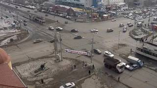 ДТП на перекрестке Молодогвардейцев и проспекта Победы
