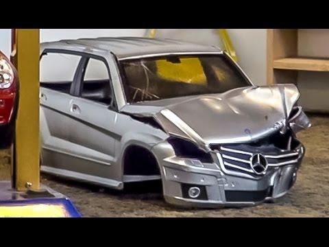 Rc Junkyard With A Car Shredder Makes For A Good Horror Scene