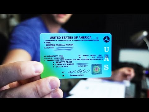 How to Register for the FAA Part 107 Exam in 2020 - YouTube