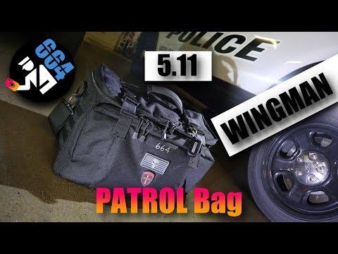 5 11 Wingman Patrol Bag Tour Of My Gear