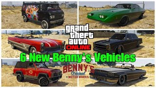 Showcase off All New 6  Benny's Vehicles of GTA LS Summer Special