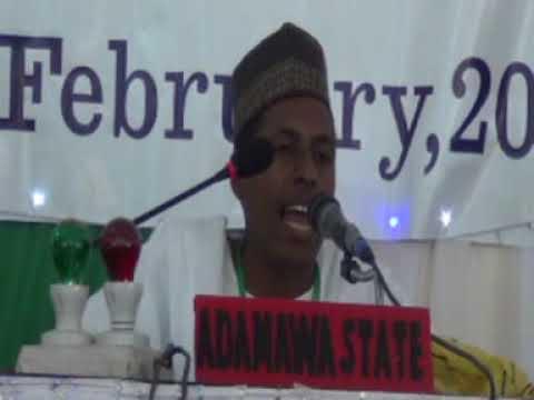 2014 Nigerian Qur'an Competition: Adamawa State 60 Hizb Male Representative