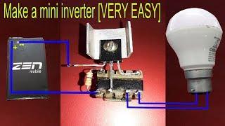 Download Video Make a mini inverter [VERY EASY] MP3 3GP MP4