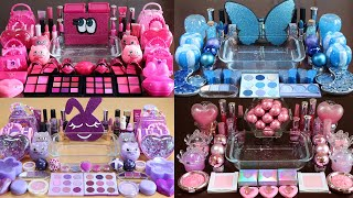 My best slime Pink, blue, purple Compilation! Most Satisfying Slime Video!★ASMR★
