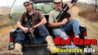 SNIPER 101 Part 99  Red Dawn & The Minuteman Rifle ~ Rex Reviews PODCAST Excerpt