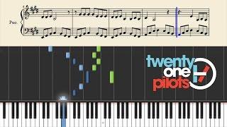 Twenty One Pilots: Friend, Please - Piano Tutorial + SHEETS