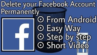 How to delete your facebook account permanently most popular videos how to delete facebook account permanently ccuart Image collections