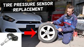 HOW TO REPLACE TPMS SENSOR .TIRE PRESSURE SENSOR LOCATION AND REPLACEMENT