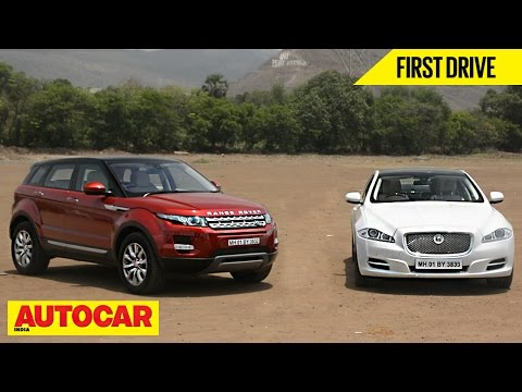 Range Rover Evoque & Jaguar XJ 2.0 Petrol | First Drive | Autocar India