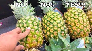 3 Tips to Pick Ripe Pineapple in 2 Min