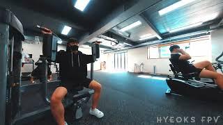 [혁스 FPV] 헬스장안에서 드론촬영 도전!! / Health club X FPV Drone