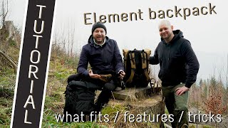 compagnon 'Element backpack' tutorial