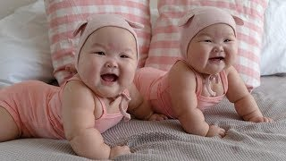 Twin Babies Just Never Fail To Make Us Laugh - Videos Compilation 2018