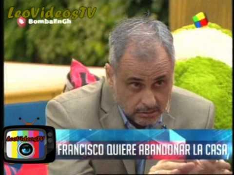 Mariano Vs Francisco, Francisco abandono la casa voluntariamente GH 2015 #GH2015 #GranHermano