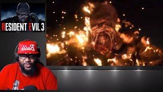 Reaction RESIDENT EVIL 3 REMAKE Nemesis Trailer (2020) HD RE3